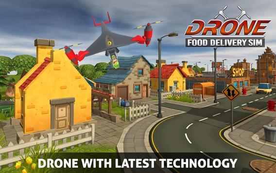 UAV Fast Food Delivery Service screenshot 2