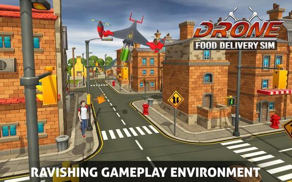 UAV Fast Food Delivery Service screenshot 4