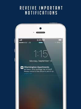 Warmington Apartments apk screenshot