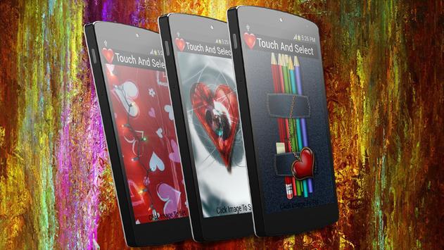 Touch Me Love live Wallpaper screenshot 1