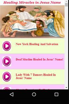 Healing Miracles in Jesus Name poster