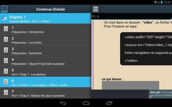 Creer Siteweb Pro HLdroid apk screenshot