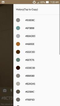 Цветной детектор камеры получить значения Hex,RGB скриншот 4