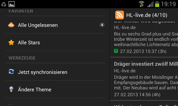 HL-live.de screenshot 1