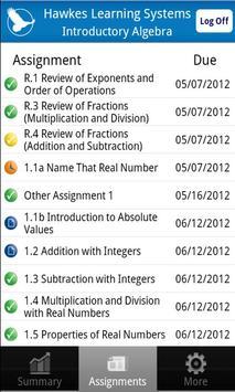 Mobile Progress Report apk screenshot