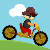 Hill Climb bike icon