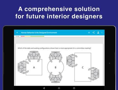 NCIDQ IDFX Flashcards for the Interior Design Exam screenshot 4