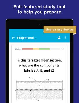 NCIDQ IDPX Flashcards for the Interior Design Exam apk screenshot