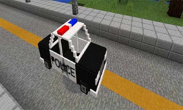 Police Car Mod for MCPE poster