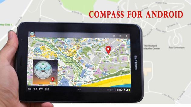 Compass - GPS Digital apk screenshot