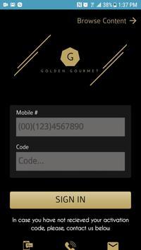 Golden Gourmet poster