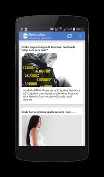 Seksualna edukacija omladine apk screenshot