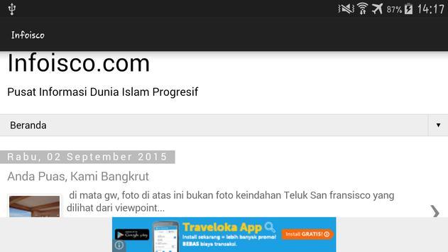 Infoisco apk screenshot