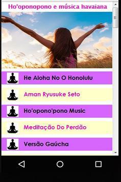 Ho'oponopono e música havaiana poster
