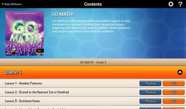 Go Math! Daily Grade 3 ポスター
