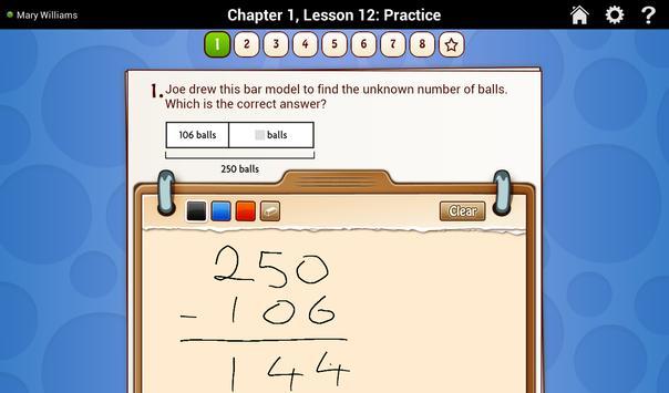 Go Math! Daily Grade 3 スクリーンショット 1