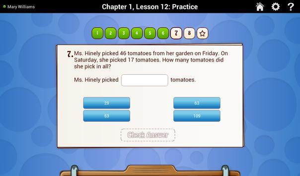 Go Math! Daily Grade 3 スクリーンショット 2