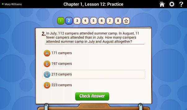 Go Math! Daily Grade 3 スクリーンショット 3