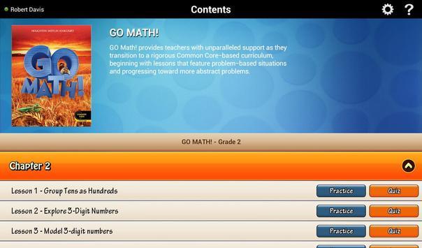 Go Math! Daily Grade 2 poster
