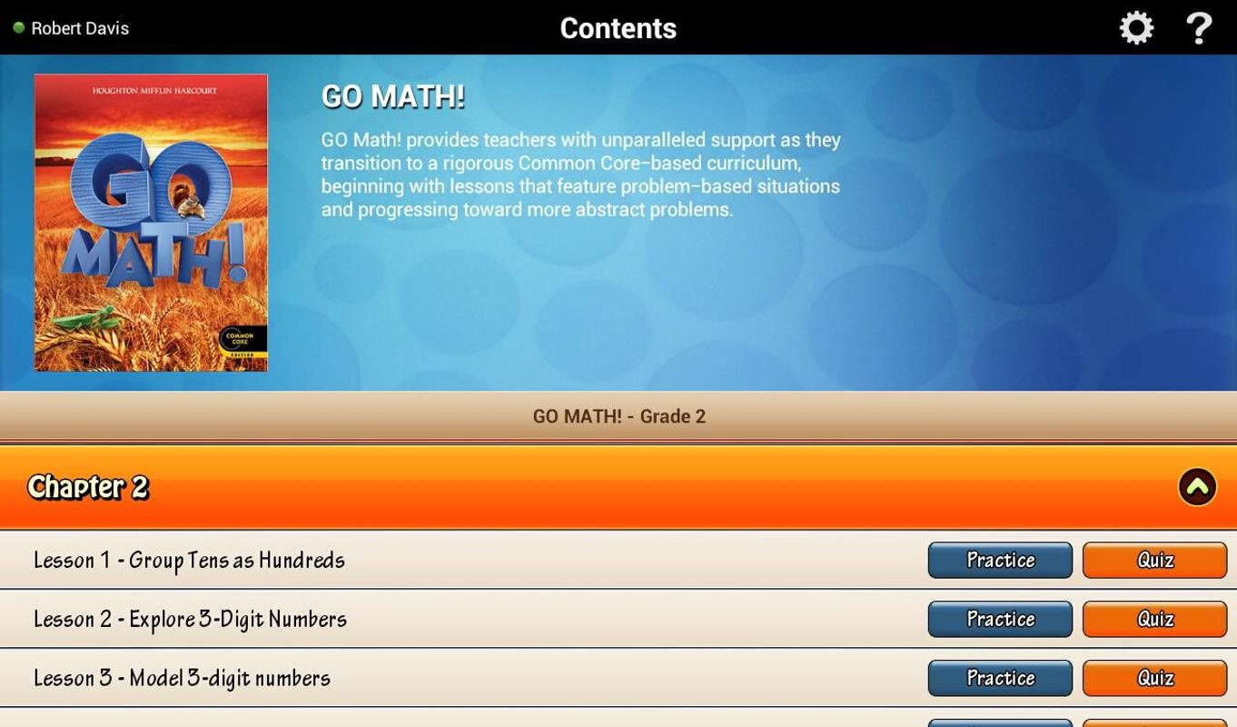 Go Math! Daily Grade 2 APK Download - Free Education APP for Android ...