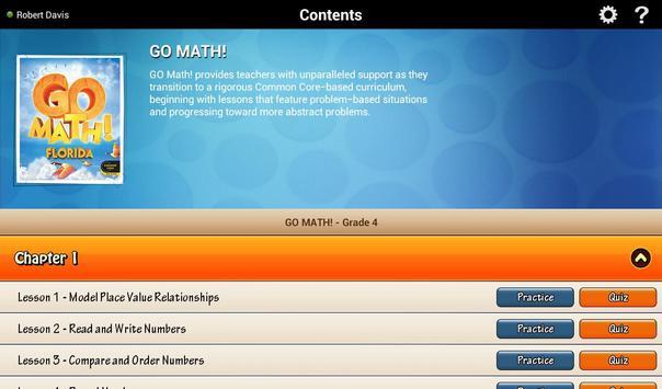 Go Math! Daily Grade 4 海报