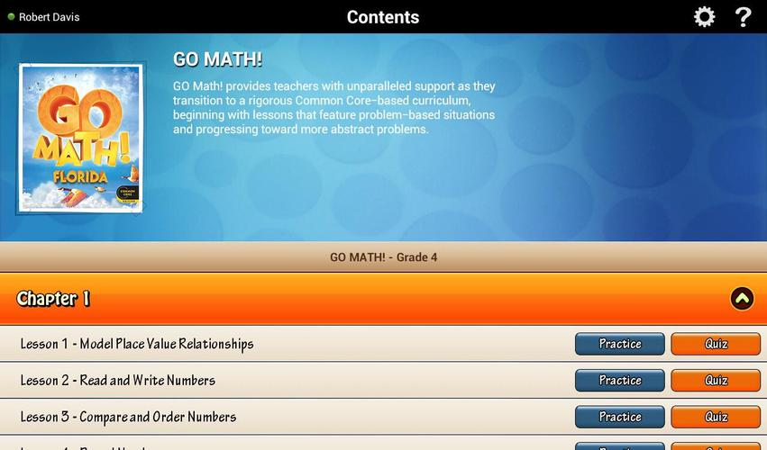 Go Math Daily Grade 4 For Android APK Download