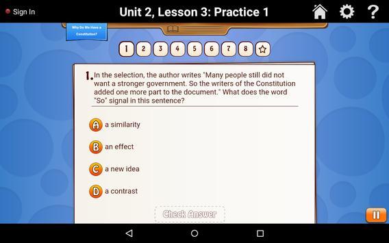 Learner Practice & Assess G5 apk screenshot