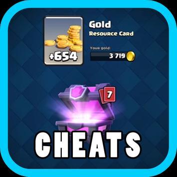 Cheats Clash Royale 2017 poster