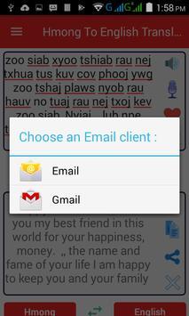 Hmong  English Translator screenshot 15