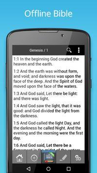 King James Bible (KJV) Free screenshot 1