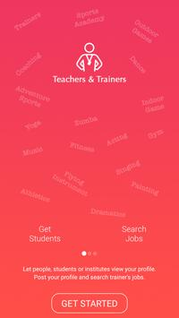 Go4Trainers - Find Trainers, Classes & Jobs poster