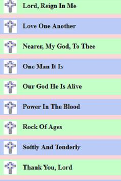 Acapella Church Gospel & Hymns apk screenshot