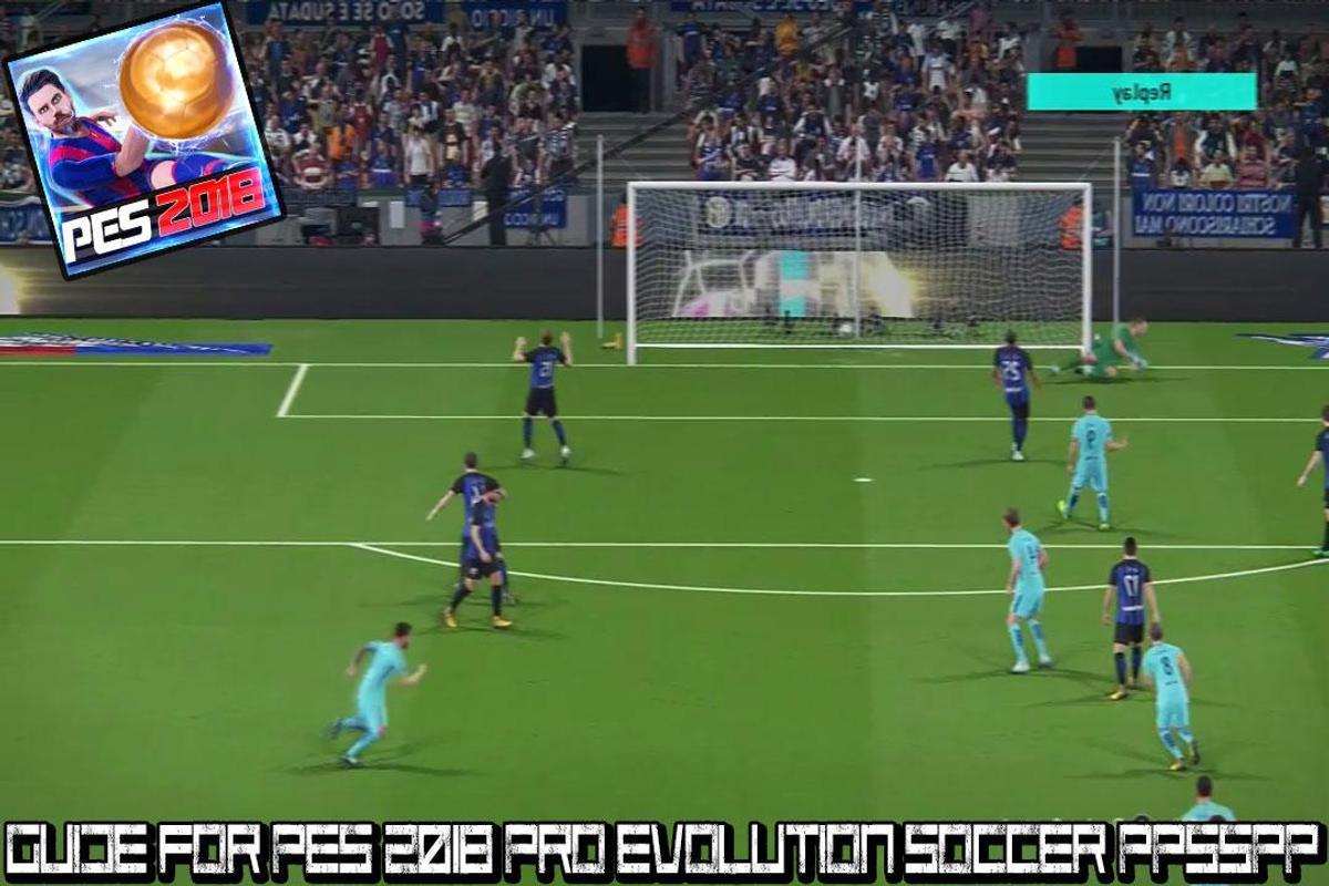 download pro evolution soccer 2018 iso ppsspp