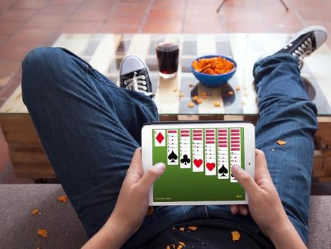 Solitaire windows Spider apk screenshot