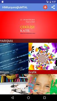 Hikmet Nazif Kurşunoğlu MTAL poster