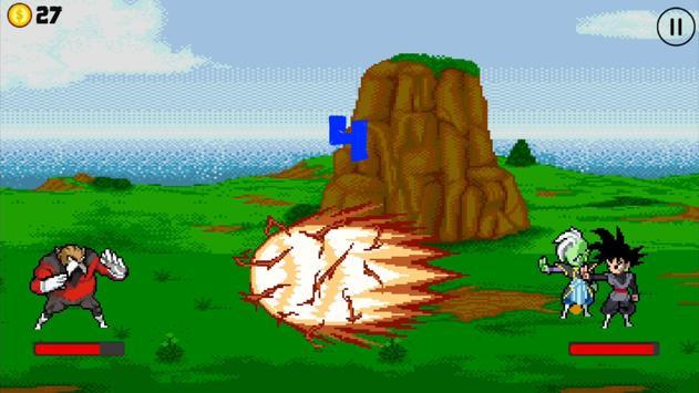 Saiyan Skill Tap Battle screenshot 1