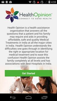 Health Opinion poster