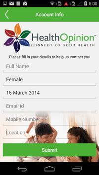 Health Opinion apk screenshot