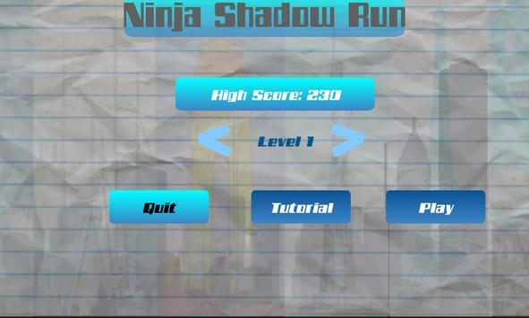 Ninja Shadow Run screenshot 1