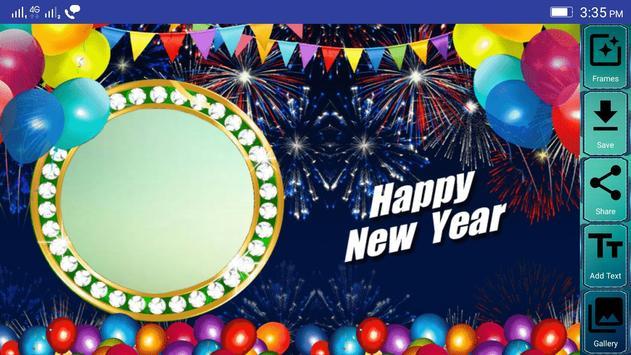 Happy New Year Photo Frames screenshot 2