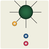 Wheel sticks icon