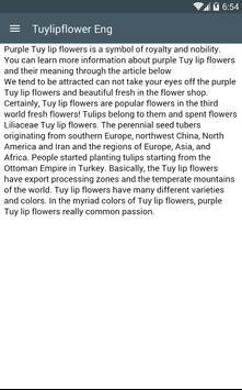 Tuylipflower Eng apk screenshot