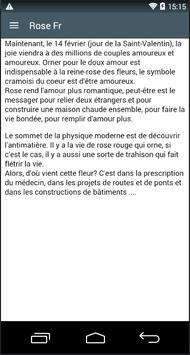 Rose Fr apk screenshot
