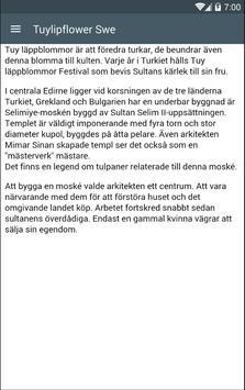 Tuylipflower Swe screenshot 1