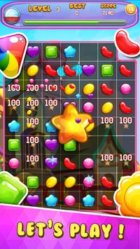Candy Legend - puzzle match 3 candy jewel poster