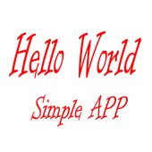 My Hello World icon