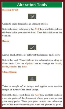 Leran Photoshop CS6 Tutorial apk screenshot