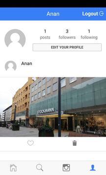 Instagroom apk screenshot
