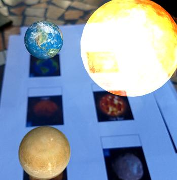 Planets and Space AR - Augmented Reality screenshot 1