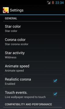 Sun Star apk screenshot